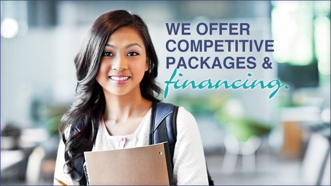 We offer competitive packages & financing.